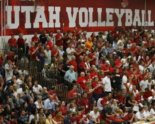 Utah 10 w volley fan zone