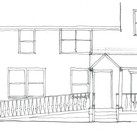 Chamberlain porch rebuild sketch