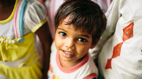 This beautiful Indian child captured my heart and reminds me I'm living for something greater than myself.