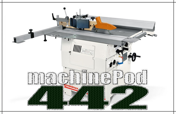 MiniMax C26 Genius Multi Use Woodworking Machine