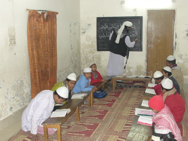 Students Taking Lesson