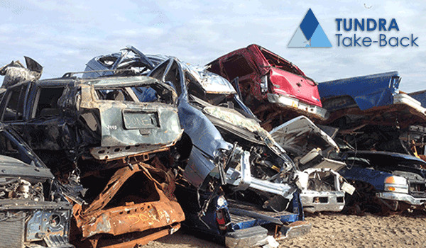 End of life vehicles pile up in the arctic. Help us bring them back to be properly recycled.