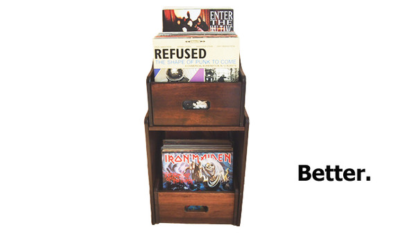 Vinyl Record Storage from the Vinyl Record Storage Company