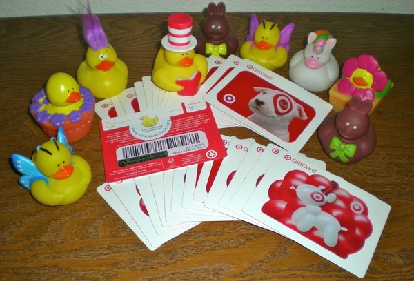 Gift Cards and Ducks for CCMC