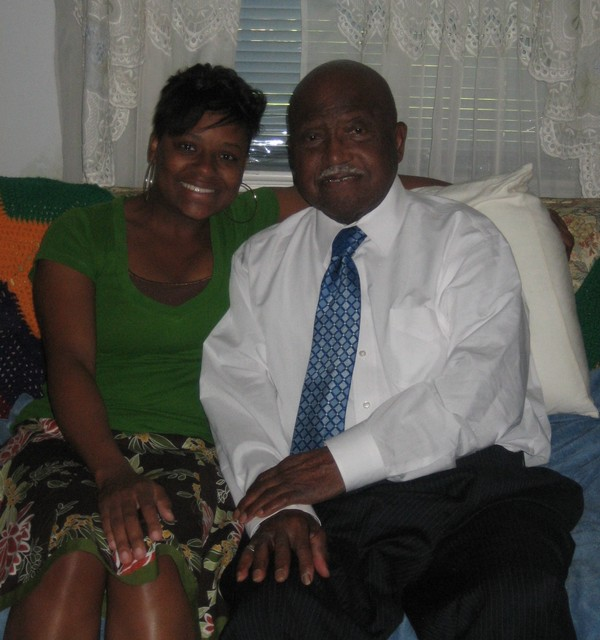 Me and my Grandfather. He died a year ago. His wife (my Grandmother) is my inspiration.