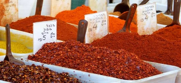 Spices in Tel Aviv Shuk/Marketplace