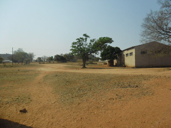 tuck shop showing school far away