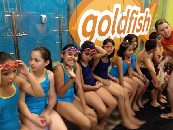 Goldfish Swim School lessons! Four more in the fifth grade!