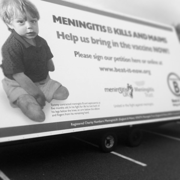 Tommy xx the face of meningitis