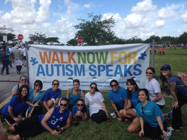Walk Now For Autism Speaks, 2013