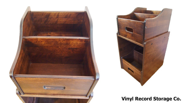 Vinyl Record Storage and Display Furniture from the Vinyl Record Storage Company