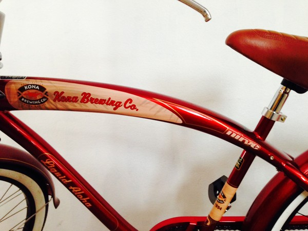 Bike Frame: Kona Brewing Co.