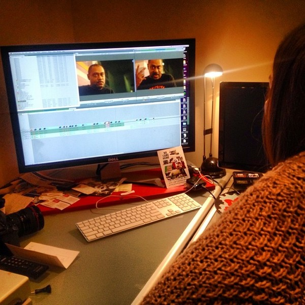 In the edit with Mike Huckaby