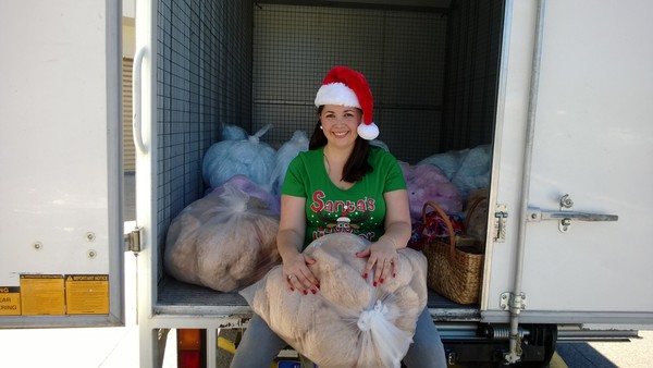 Me and my 3 Tonne truck of Teddy bears..