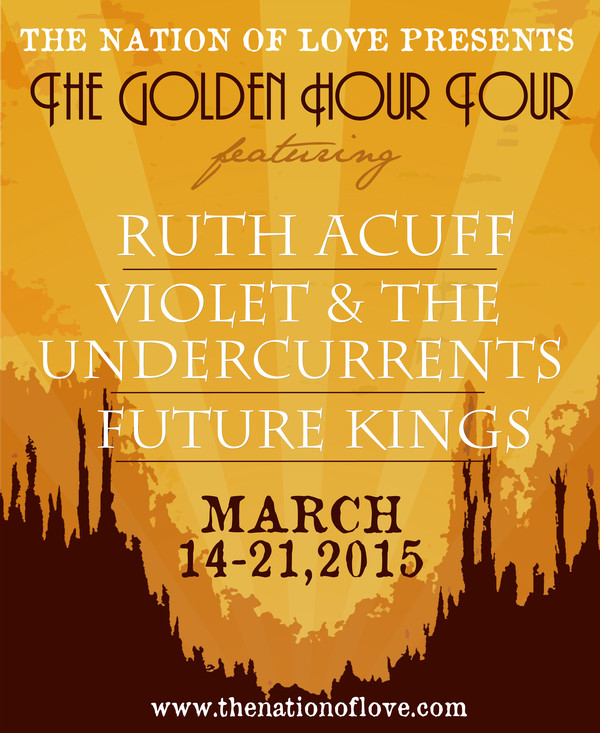 Golden Hour Tour Poster