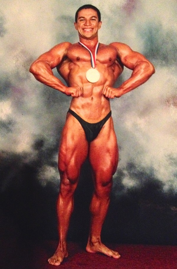 Tony Sanchez, National Body Building Champion, 2001