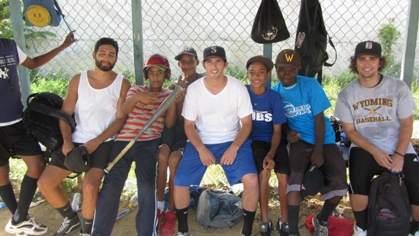 Your donation can help a little league like this on in Manoguayabo, Dominican Republic