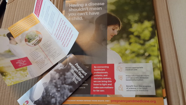 Information kit posters and flyers