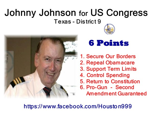 Johnny Johnson For Congress