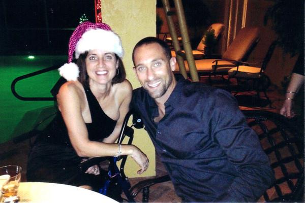 My husband and I, Christmas 2012