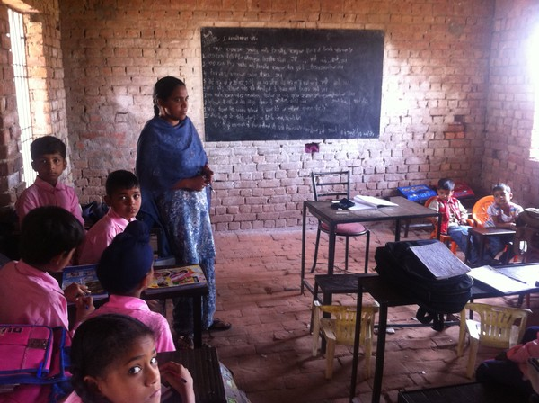 A local school in Rajpura that we will be working with