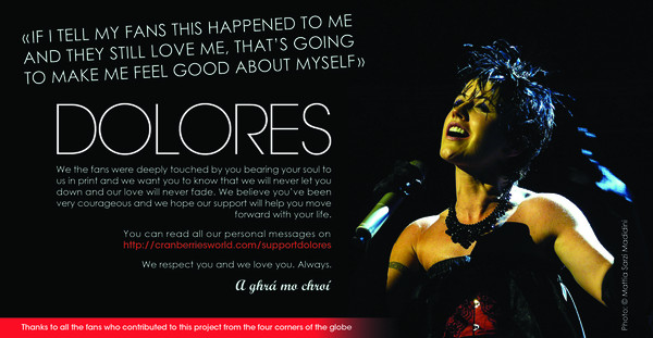 Support Dolores advert