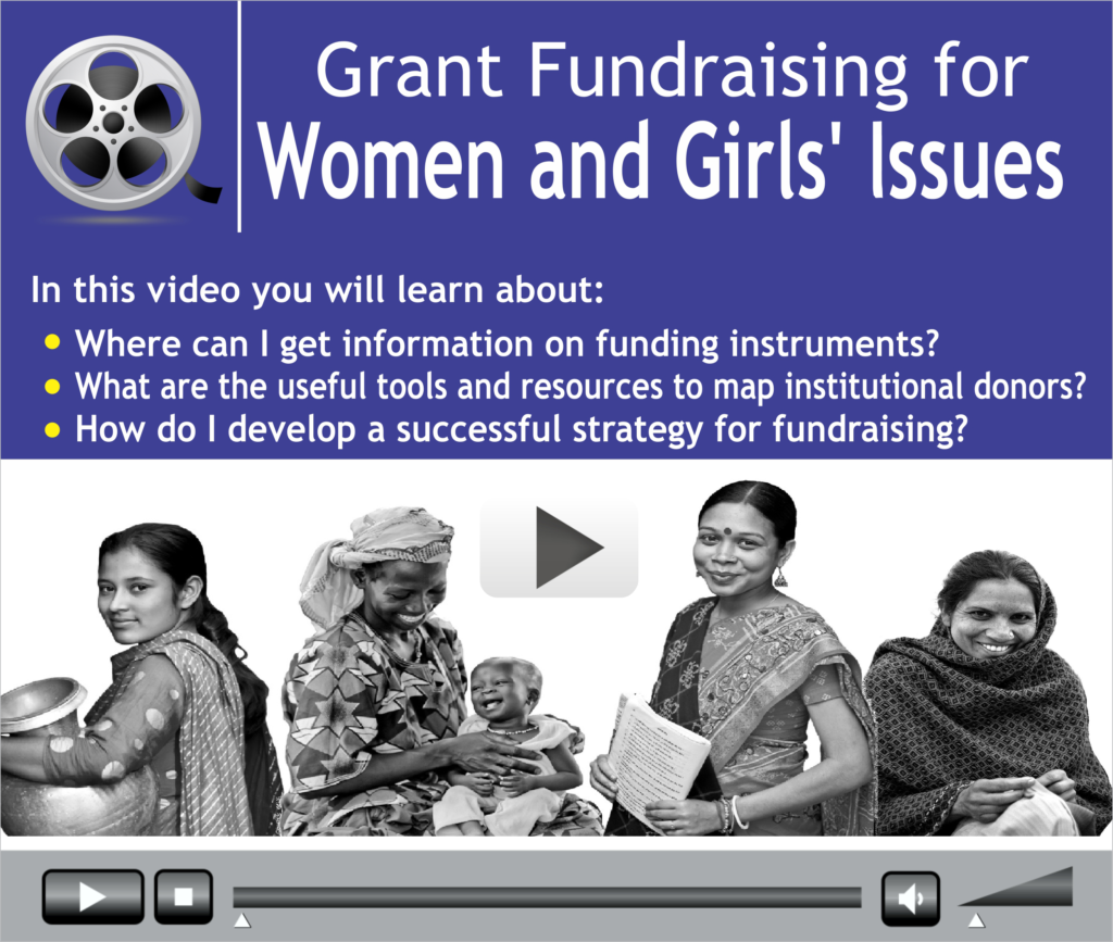 Grant Fundraising for Women and Girls' Issues