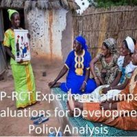 PEP Call for Expressions of Interest: Experimental Impact Evaluations for Development Policy Analysis in Developing Countries