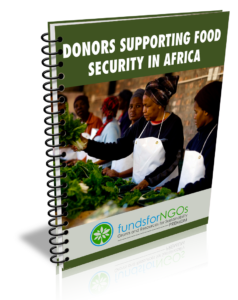 Donors Supporting Food Security in Africa