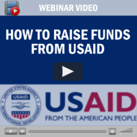 Webinar Video: How to Raise Funds from USAID