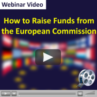 Webinar Video: How to Raise Funds from the European Commission