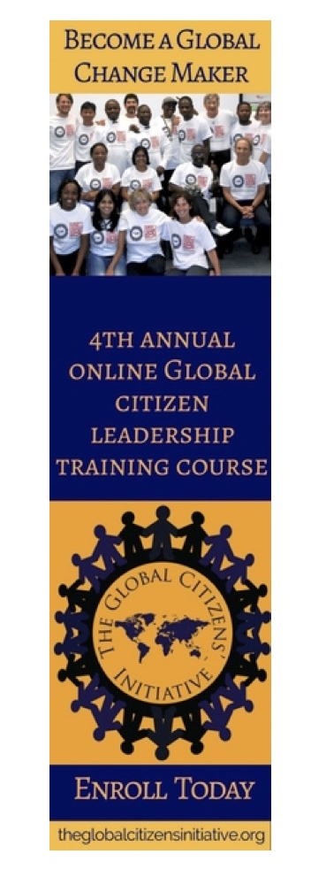 THE 4TH ANNUAL ONLINE 2016 GLOBAL CITIZEN LEADERSHIP CERTIFICATE COURSE