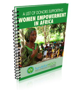 Donors for Women Empowerment in Africa