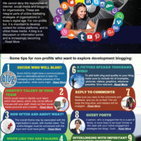 Info-graphic- Development Blogging: Some tips for NGOs