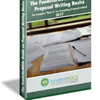 "Download! The FundsforNGOs Guide on Proposal Writing Basics: The Complete ""How-To"" for Everything Proposal-related"