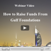 Webinar Video: How to Raise Funds From Gulf Foundations