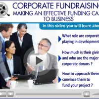 Webinar Video: Corporate Fundraising- Making an Effective Funding Case to Business