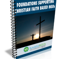 Foundations supporting Christian and Muslim Faith Based Organizations