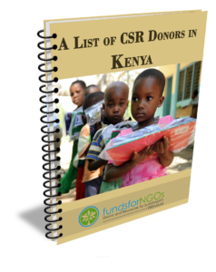 A List of CSR Donors in Kenya