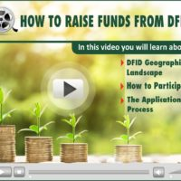 Webinar Video: How to Raise Funds from DFID