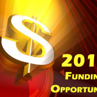 Upcoming Funding Opportunities for 2018!