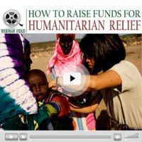 Webinar Video: How to Raise Funds for Humanitarian Relief