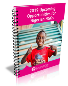 2019 Upcoming Opportunities for Nigerian NGOs