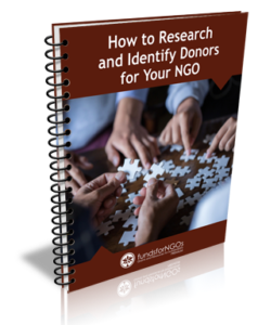 How to Research and Identify Donors