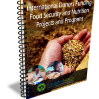 International Donors Funding Food Security and Nutrition Projects and Programs