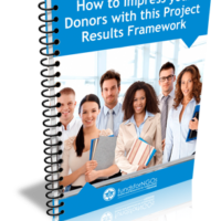 How to Impress your Donors with this Project Results Framework