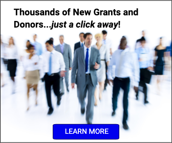 Thousands of New Grants and Donors