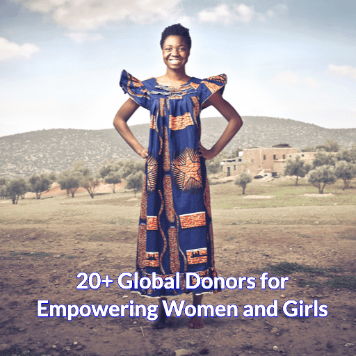 20+ Global Donors for Empowering Women and Girls