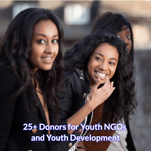 25+ Donors for the Empowerment of Youth