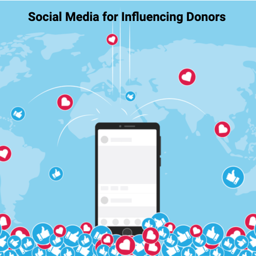Social Media for Influencing Donors